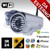Telecamera IP HD per esterno