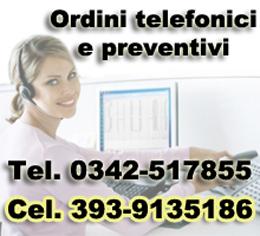 Numeri di telefono diretti per preventivi personalizzati e assistenza immediata!